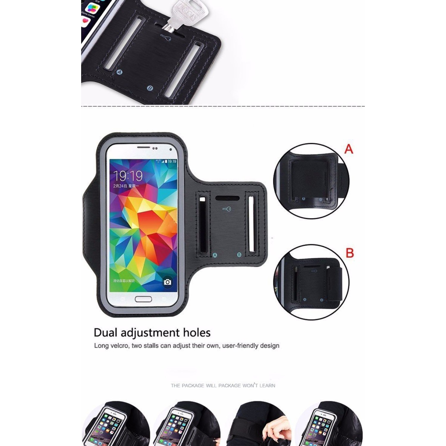 online retailer 02174 32587 Samsung Galaxy S3/S4 Protective Armband Build in Key,with Credit ...