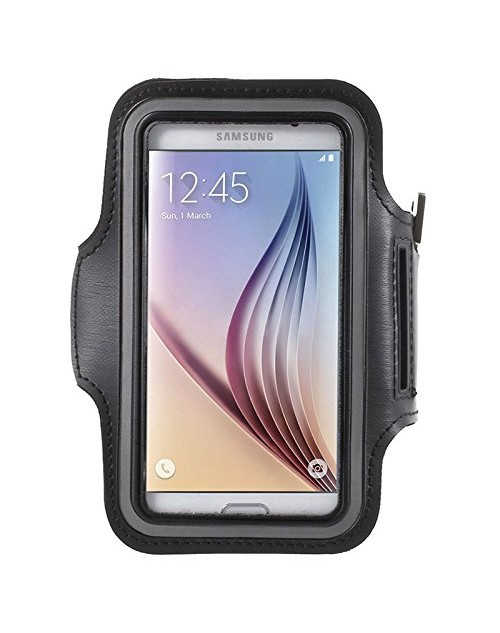 Samsung Galaxy S7 Edge Protective Armband Build in Key,with Credit Cards & Money Holder Gym Jogging Sports Running Case for Samsung Galaxy S7 Edge