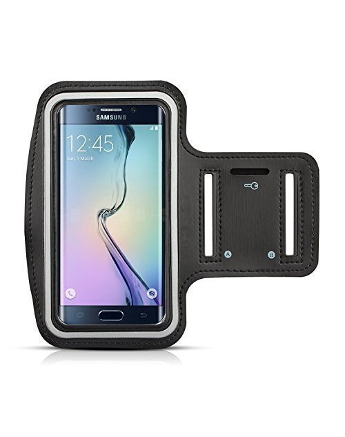 Samsung Galaxy S6 Protective Armband Build in Key,with Credit Cards & Money Holder Gym Jogging Sports Running Case for Samsung Galaxy S6