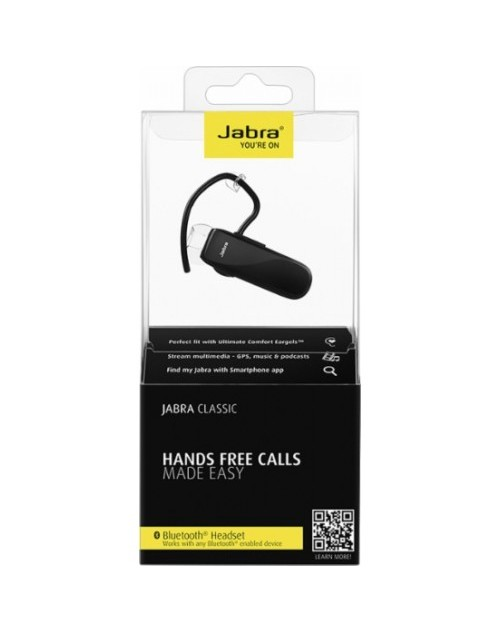Jabra Classic Wireless Bluetooth Headset - Black