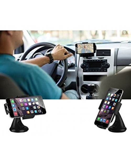 New universal in Car Sleek Mount Holder 360 Degree Rotating for Smartphone,GPS.PDA,MP3 players & other devices between 50mm and 90mm wide.