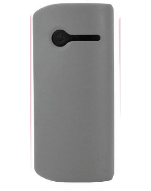 Plus One 2600mAh Portable Powerbank Grey with Built in Light