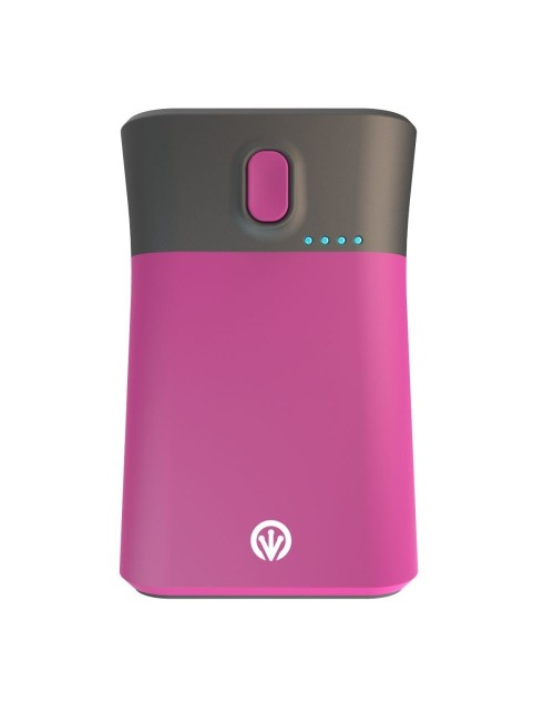 iFrogz Golite Traveler, 9000mAh Portable Charger and Flashlight for Smartphones and Tablets - Pink