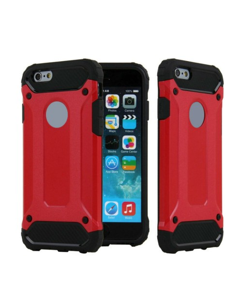 SGP Rugged Armor for iPhone 5C Case Slim & Soft TPU Drop Resistance Phone Cases-Red