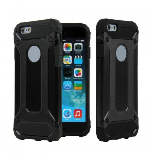 SGP Rugged Armor for iPhone 5C Case Slim & Soft TPU Drop Resistance Phone Cases-Black