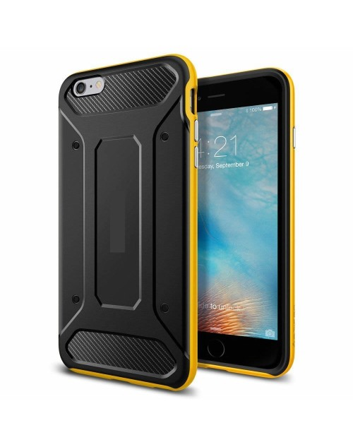 iPhone 6/6s Case Neo Hybrid Carbon-Yellow