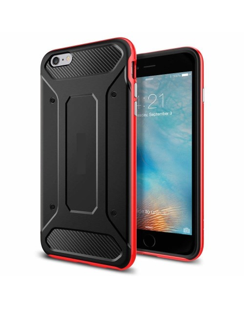iPhone 6/6s Case Neo Hybrid Carbon-Red