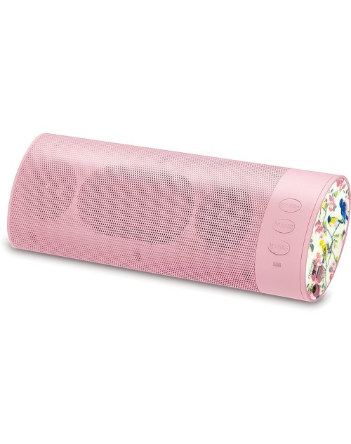 New Arrival Universal Kit Sound Boom Bar Speaker Gifting Portable Rechargeable Stereo Bluetooth Wireless Speaker Sound System with Smartphone/Tablets/MP3 (Pink)