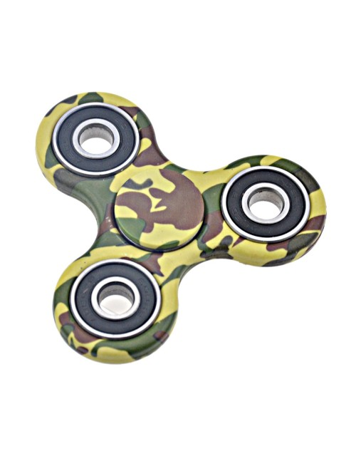 Fidget Spinner, Relieve Stress Reducer Help Focus Killing Time Hand Camouflage Finger Toy