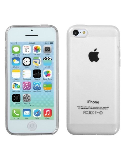 iPhone 4S,4 Soft TPU Slim Case Crystal Clear Transparent Anti Slip Case Back Protector Case Cover for iPhone 4S,4
