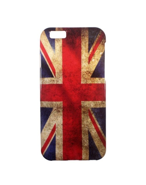 iPhone 5C Case, Soft Rubber TPU Gel Silicone Case Back Protective Cover Skin for iPhone 5C-UK Flag